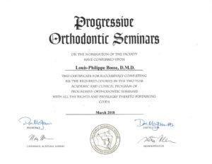 Progressive-Ortho-Certificate