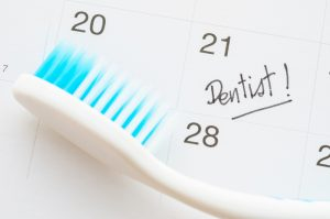Scheduling a dentist appointment date
