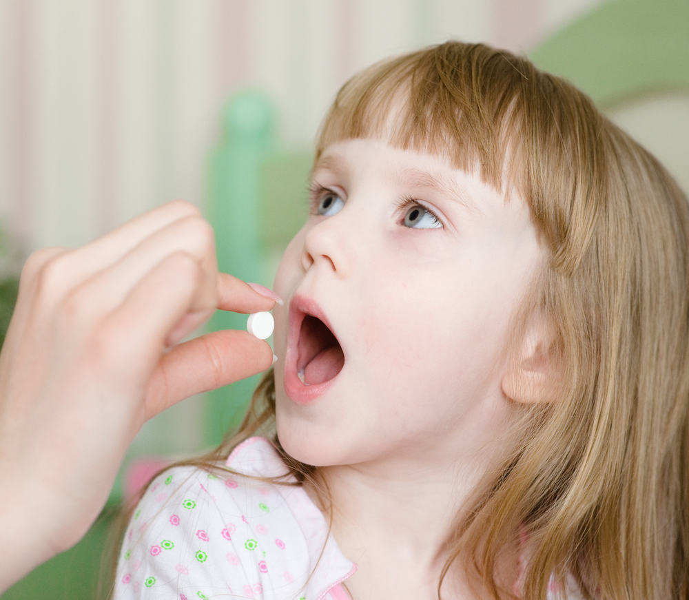 tetracycline discoloration- child