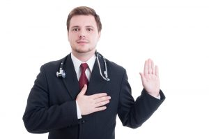 Do Dentists Take the Hippocratic Oath similarly to Doctors?