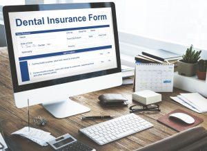 Dental Insurance Form on Computer