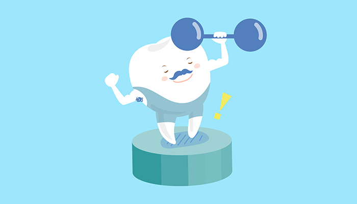 strong healthy teeth